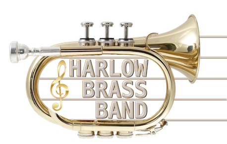 The Harlow Brass Band Logo